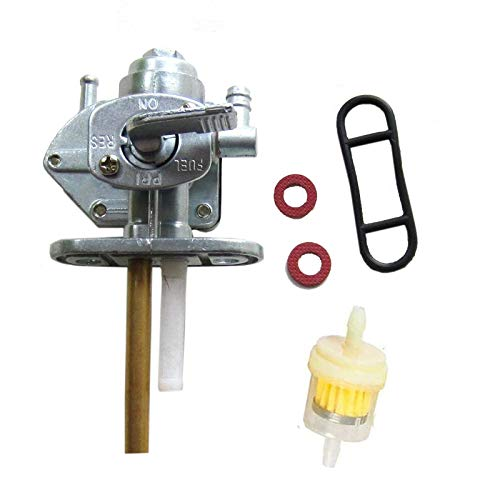 Shnile Gas Fuel Petcock Switch Valve compatible with Yamaha Virago 700 XV700 750 XV750 920 XV920