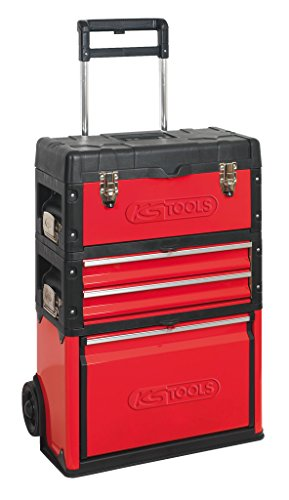 KS Tools 8500340Mobile Kunststoff Stahlblech Tool Box