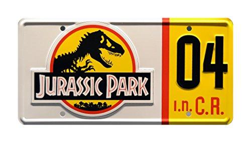 Jurassic Park | Explorer #04 | Metal Stamped License Plate