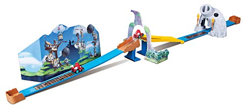 Maisto- Angry Birds Crash Course-Pista de Acrobacias 23032, Multicolor