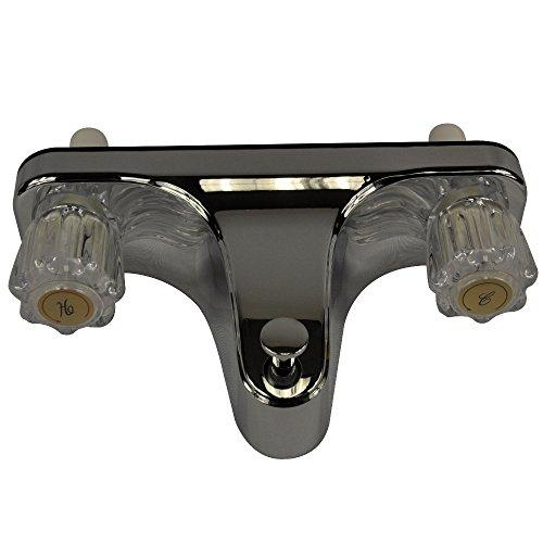 Danco 33055X Mobile Home Tub/Shower Faucet, Off-Set, Chrome/Acrylic