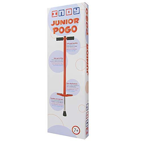 Indy Pogo Stick - Hüpfstab für Kinder, Gartenspielzeug Kinder von 7+ jahren und bis zu 65 kg, Outdoorspielzeug für Jungen und Mädchen - Spaß garantiert