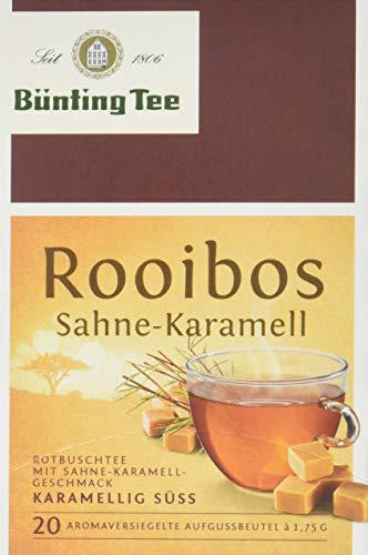 Bünting Tee Rooibos Sahne-Karamell 20x1.75 g Beutel, 12er Pack (12 x 35 g)