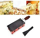 Herramienta Bandeja de horno Queso 1set antiadherente queso Raclette portátil estufa para hornear Utensilios de cocina a la parrilla para Queso, Hornear Set Herramientas para hornear