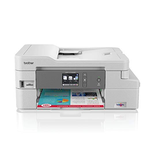 Brother DCP-J1100DW - Multifunción de Tinta Color All in Box (128 MB, WiFi, Cartuchos de Alta Capacidad, LCD, USB 2.0 Hi-Speed, hasta 1.200 x 1.200 PPP, Bandeja de Entrada de 150 Hojas)
