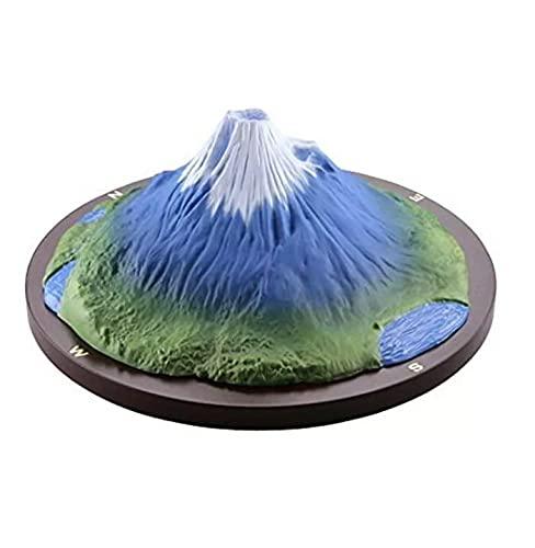海洋堂 モリナガ ヨウ 立体図解 富士山 フィギュア