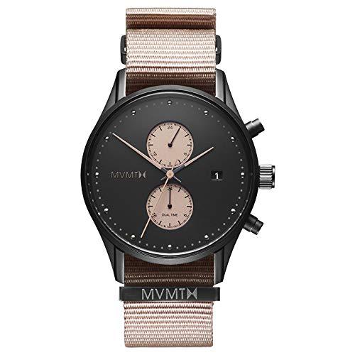 MVMT Voyager Watches | 42 MM Men's Analog Watch | Desert