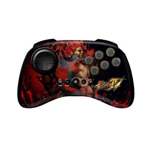 Mad Catz Street Fighter IV FightPad - Akuma (PS3) [Importación Inglesa]