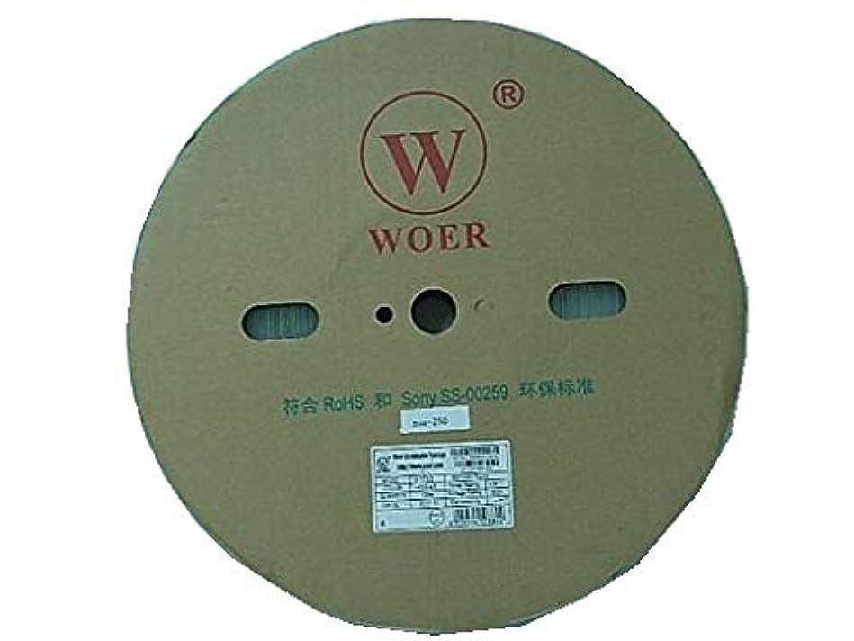 ケーブルしわ排他的透明 熱収縮チューブ 円の直径φ17mm(実測φ19.1mm)1巻100m<suc-250>