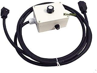 KINOSUN 5.8m High Overhead Roller Stand with Big Grip Head 5//8 16mm 28mm Stud /& Socket