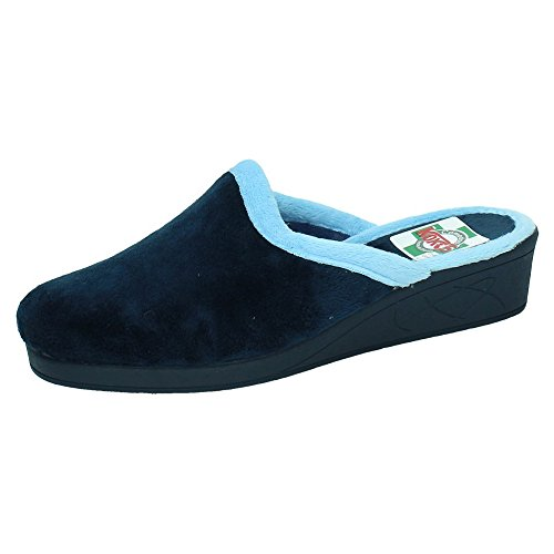 MADE IN SPAIN 6501 Chinelas con CU/ÑA Mujer Zapatillas CASA