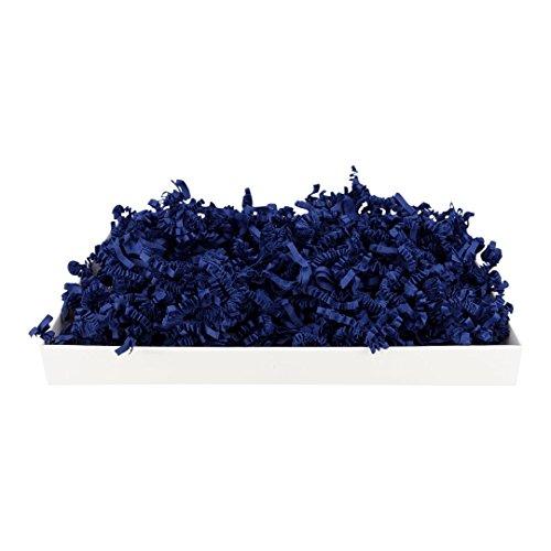 1 kg SizzlePak 958, Navy blue, marineblaues Füll- und Polsterpapier zum Füllen, Polstern, Ausstopfen, Dekorieren