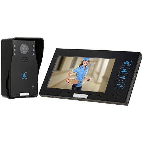 KKmoon Video Door Phone,7' Intercome,Doorbell Door Phone...