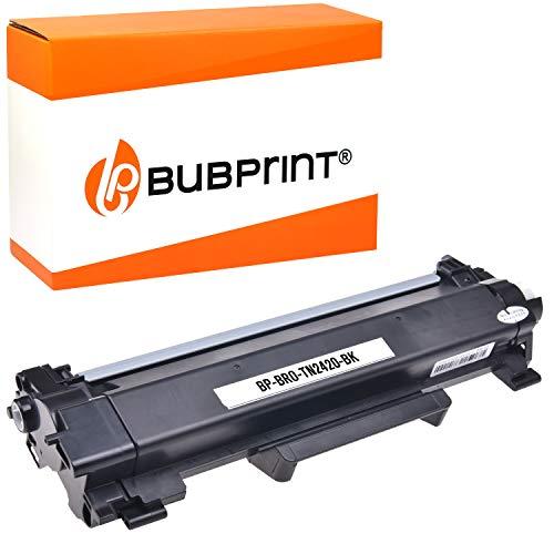 Bubprint Toner kompatibel zu Brother TN-2410 TN-2420 DCP-L2510D DCP-L2530DW DCP-L2550DN HL-L2310D HL-L2350DW HL-L2370DN HL-L2375DW MFC-L2710DN 2710DW MFC-L2730DW MFC-L2750DW Schwarz 3.000 Seiten