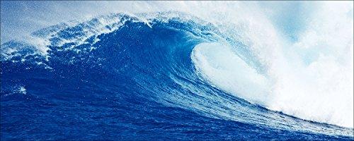 PRO-Art gla683c - Quadro da Parete su Vetro Surfin', 30 x 80 cm