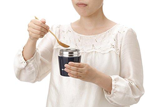 タイガー魔法瓶真空断熱スープジャー250ml保温弁当箱広口まる底インディゴブルーMCL-B025-AITiger