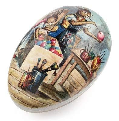 Rudolphs - Cofre del tesoro (350 mm), diseño de huevos de Pascua