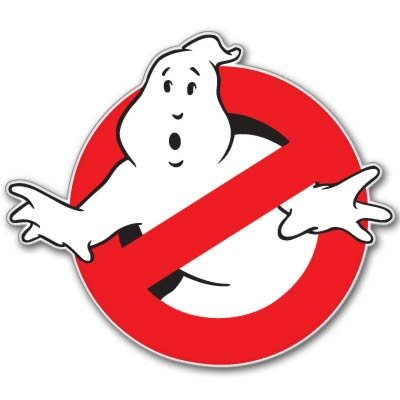 Ghostbusters Vynil Car Sticker Decal - 2