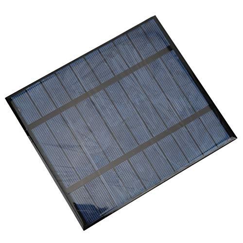 Weikeya Solar Panel, Exterior Plegable Solar Panel 5v con Único Cristal Silicio...