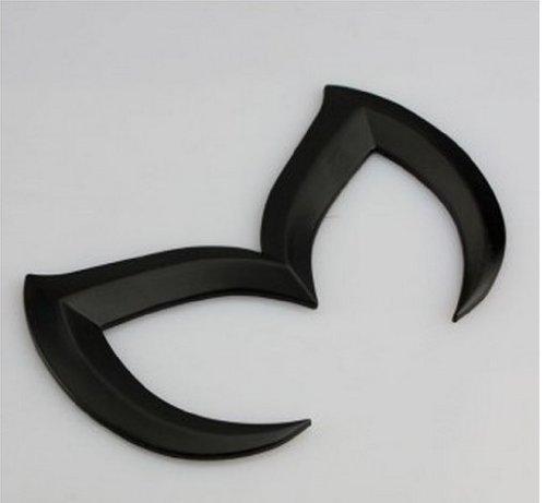 SuPoo for Mazda Black Sporty Metal Evil 'M' Rear...