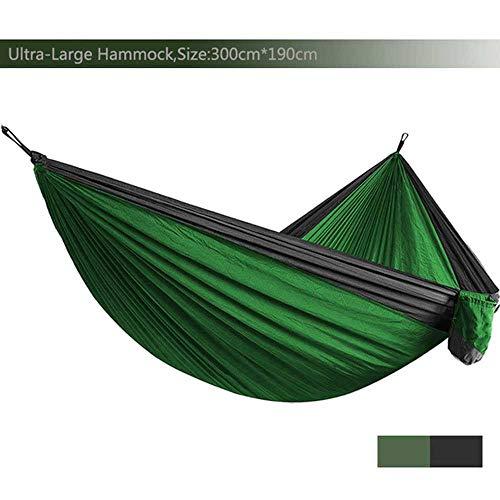 NOBRAND Ultra-Large Light Weight Parachute Hammock Camping Survival Garden Hunting Leisure Hamac Travel Double Person Hamak Ramac