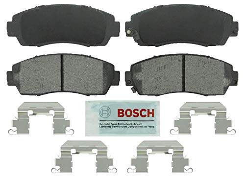 Price comparison product image Bosch BE1089H Blue Disc Brake Pad Set with Hardware for Select Acura RDX and Honda Crosstour,  CR-V,  Odyssey - FRONT