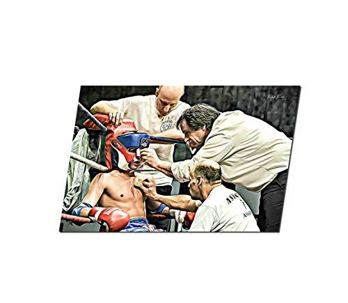 Générique Art Boxing, Fotografie, Druck auf Plexiglas, Fotodruck, Thailand, Bürodekoration, Wanddekoration, Druckbild, dekoratives Foto (30 x 45 cm)