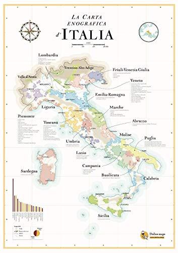 La mappa dei vini Italiani