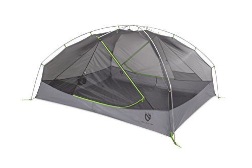 Nemo Galaxi 2P Backpacking Tent and Footprint (Birch Leaf Green)