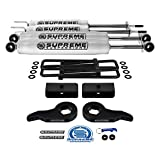 Supreme Suspensions - Full Lift Kit for 1999-2007 Classic Chevy Silverado/GMC Sierra 1500 Adjustable 1' - 3' Front + 1.5' Rear Suspension Lift Kit + Pro Performance Series Shocks 4WD