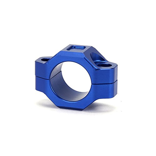 JFG Racing CNC Plaque de montage pour guidon de 2,22 cm Bleu