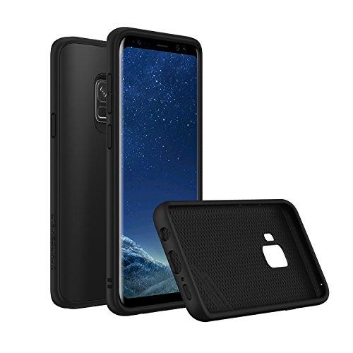 RhinoShield Case kompatibel mit Samsung [Galaxy S9] | SolidSuit - Schock Absorbierende Schutzhülle mit Premium Finish 3,5 Meter Fallschutz - Klassik Schwarz