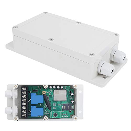 4G GSM Dual Channel Remote Switch Controller, SMS Command Remote Board with Relay Output, GSM-CTL-4G Relay Control Box(US)