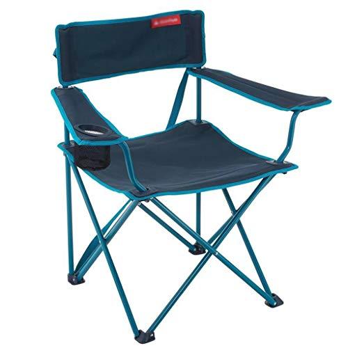DUOER-Klappstühle Portable Camping Stuhl-Compact Ultraleicht Klapp Backpacking Stühle in Einer Tragetasche, Wanderer, Camp, Strand, Outdoor (150kg) (Color : B)