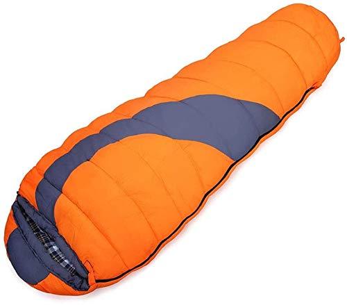 Sac de couchage Robe légère Maman -10~10 ℃ Confortable Chaud est idéal for la randonnée Aventure, Orange, 220 * 80 * 50 cm Taille Nom: 220 * 80 * 50 cm, Le nom de la Couleur: Bleu