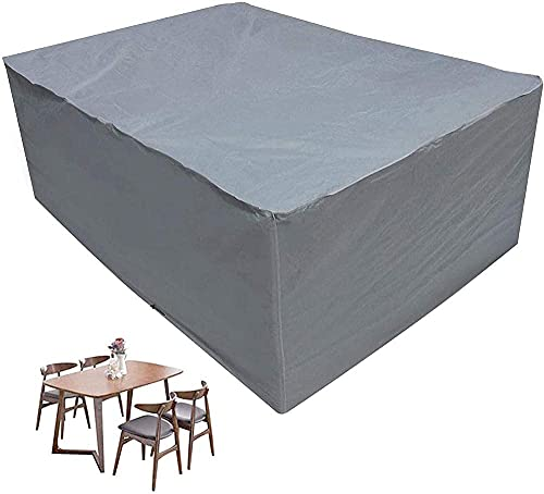 HMHMVM Muebles a Prueba de Agua, Estuche para Muebles, sofás de Mesa, Muebles para Exteriores, Mesa Cubierta, jardín, 420D, Cubierta Oxford