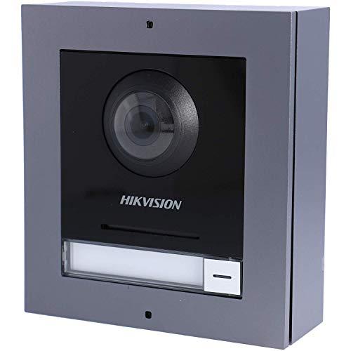 Hikvision Digital Technology DS-KD8003-IME1/Surface sistema de intercomunicación de video Negro, Gris 2 MP
