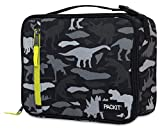 PackIt Freezable Classic Lunch Box, Dino Camo Charcoal