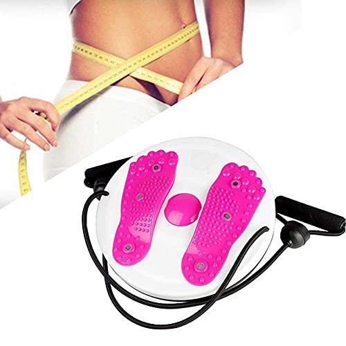 HUA JIE Shaping Twister Disco de Cintura, Fitness Plate Twisters Balance Trainer para Physio, Posture & Fitness, Body Shaping Twister Waist Machine Equipo de Ejercicio Twister Femenino