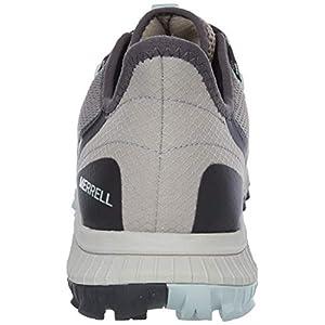 Merrell womens Bravada Waterproof Hiking Shoe, Aluminum, 7.5 US