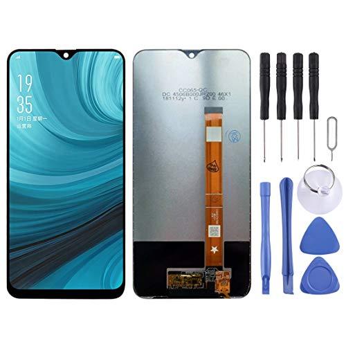 Piezas de Repuesto para teléfonos móviles Pantalla LCD y Conjunto Completo de digitalizador para OPPO A7 / A5s / AX7 (Color : Black)