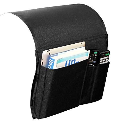 Preisvergleich Produktbild Anti-Rutsch-Armlehne Caddy Pocket-Organizer Für Sofa-Couch Stuhl Lehnstuhl,  Lagerung Für Telefon,  Buch,  Zeitschriften,  Sessel Fernbedienungshalter