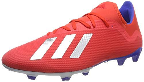 adidas Herren X 18.3 Fg Fußballschuhe, Mehrfarbig (Rojact/Plamet/Azufue 000), 44 EU