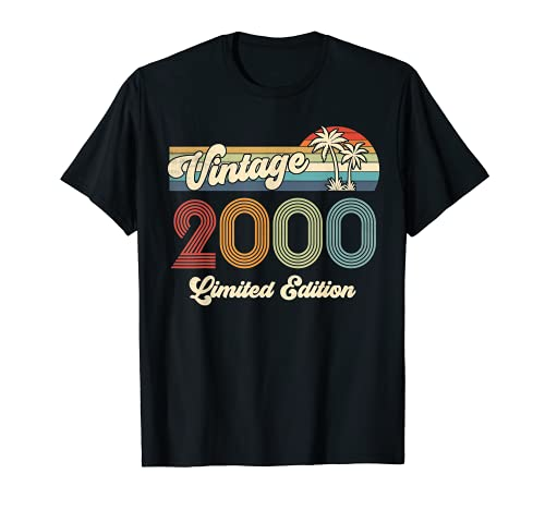 Vintage 2000 21st Birthday Shirt Limited Edition 21 Year Old T-Shirt