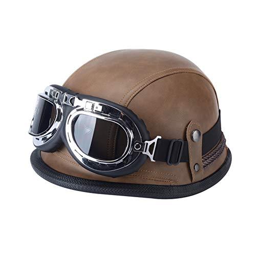 WJJ - Helme für Skateboarding in Brown, Größe 55-60cm