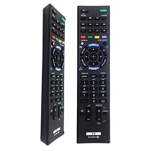 FOXRMT Sostitutivo Telecomando Sony RM-ED047 per Telecomando Sony Bravia TV Sony Smart TV RM-ED052 RM-ED050 RM-ED053 RM-ED060 RM-YD103 - Telecomando sony universale