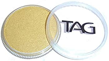TAG Face and Body Paint - Pearl Gold 32gm
