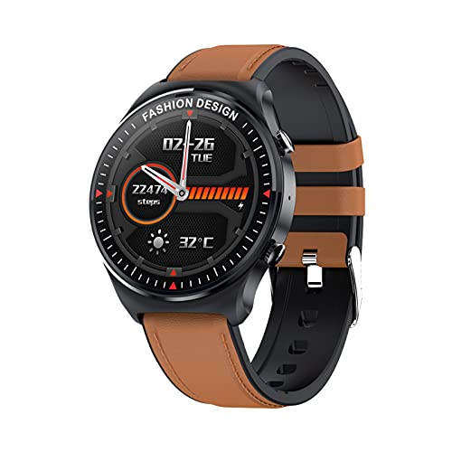 STCMYXGS Smart Watch 1.32 Inch Touch Screen Smart Watch GPS Running Sports Watch Call Receiving Music Player Fitness Tracker Watch ip67 Waterproof Sports Music Watch Android iOS Male and Women Gift