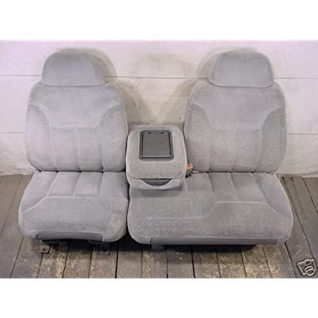 Tahoe and GMC Sierra Front 60//40 Split Seat With Opening Center Console Made in Conceal Camo Velour Durafit Seat Covers 1995-2000 Chevy Silverado