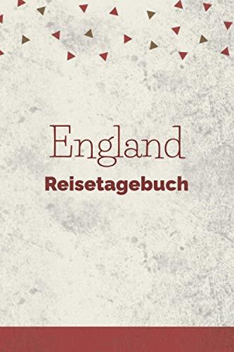 England Reisetagebuch: Ausfüllbares A5 Reisejournal | Punkteraster Dot Grid | Perfektes Geschenk für Weltenbummler zur England Reise | Checklisten | ... Au Pair, Schüleraustausch, Weltreise